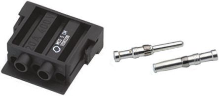 Epic Contact Heavy Duty Power Connector, MC 2.5, MCS 5 Way Male 20A MC Module Kit, includes Contact, Module