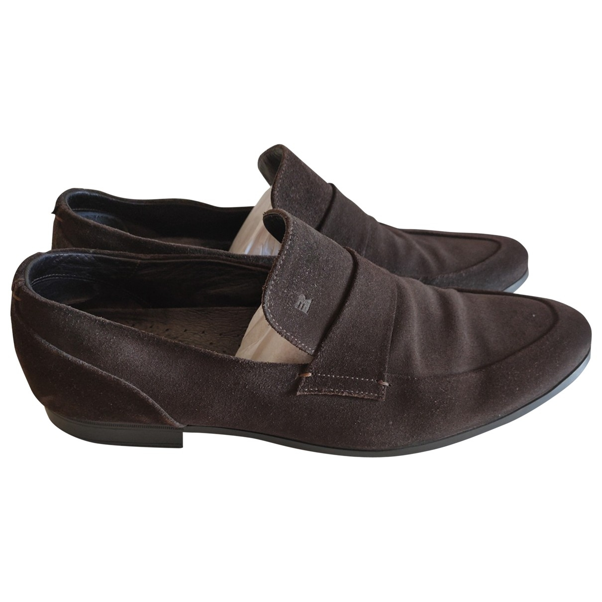 Fratelli Rossetti \N Brown Suede Flats for Men 10 US