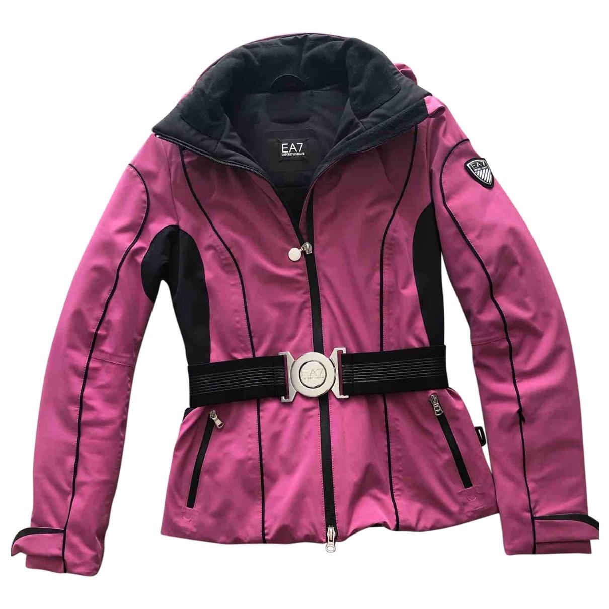 Emporio Armani - Veste   pour femme - rose