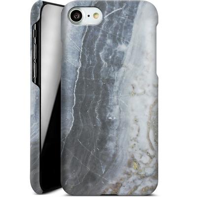 Apple iPhone 7 Smartphone Huelle - Desaturated Marble von Emanuela Carratoni