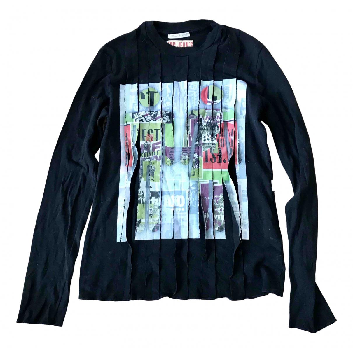 Jean Paul Gaultier \N Black Cotton  top for Women 40 FR