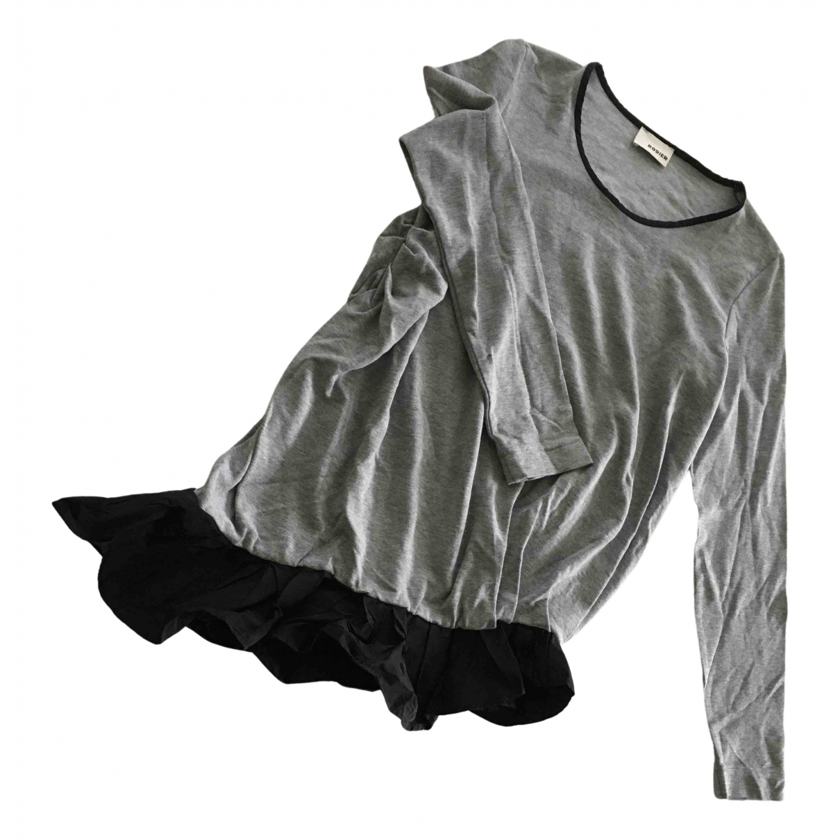 Rodier - Pull   pour femme - gris