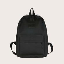 Minimalistischer Rucksack