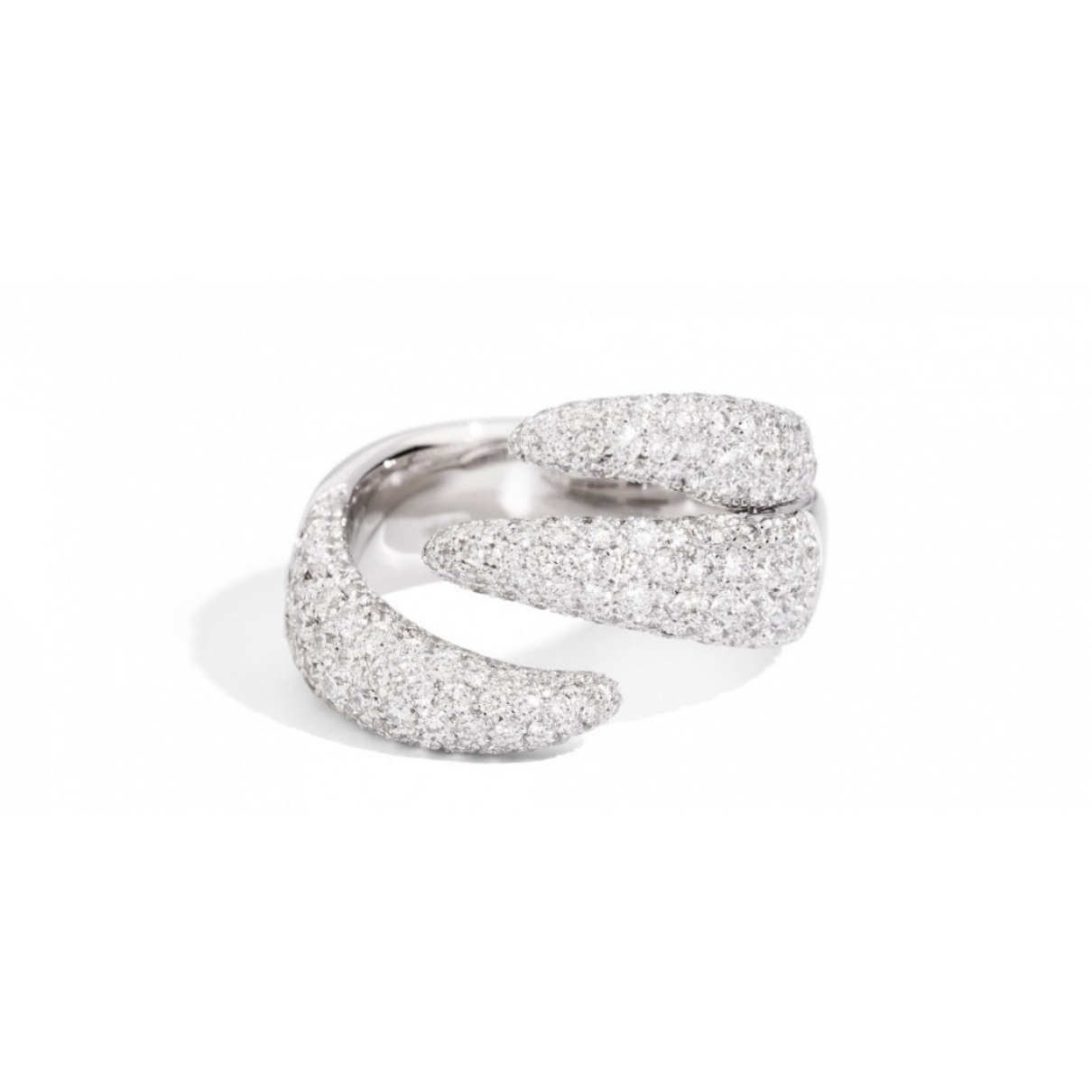Non Signé / Unsigned \N White White gold ring for Women \N