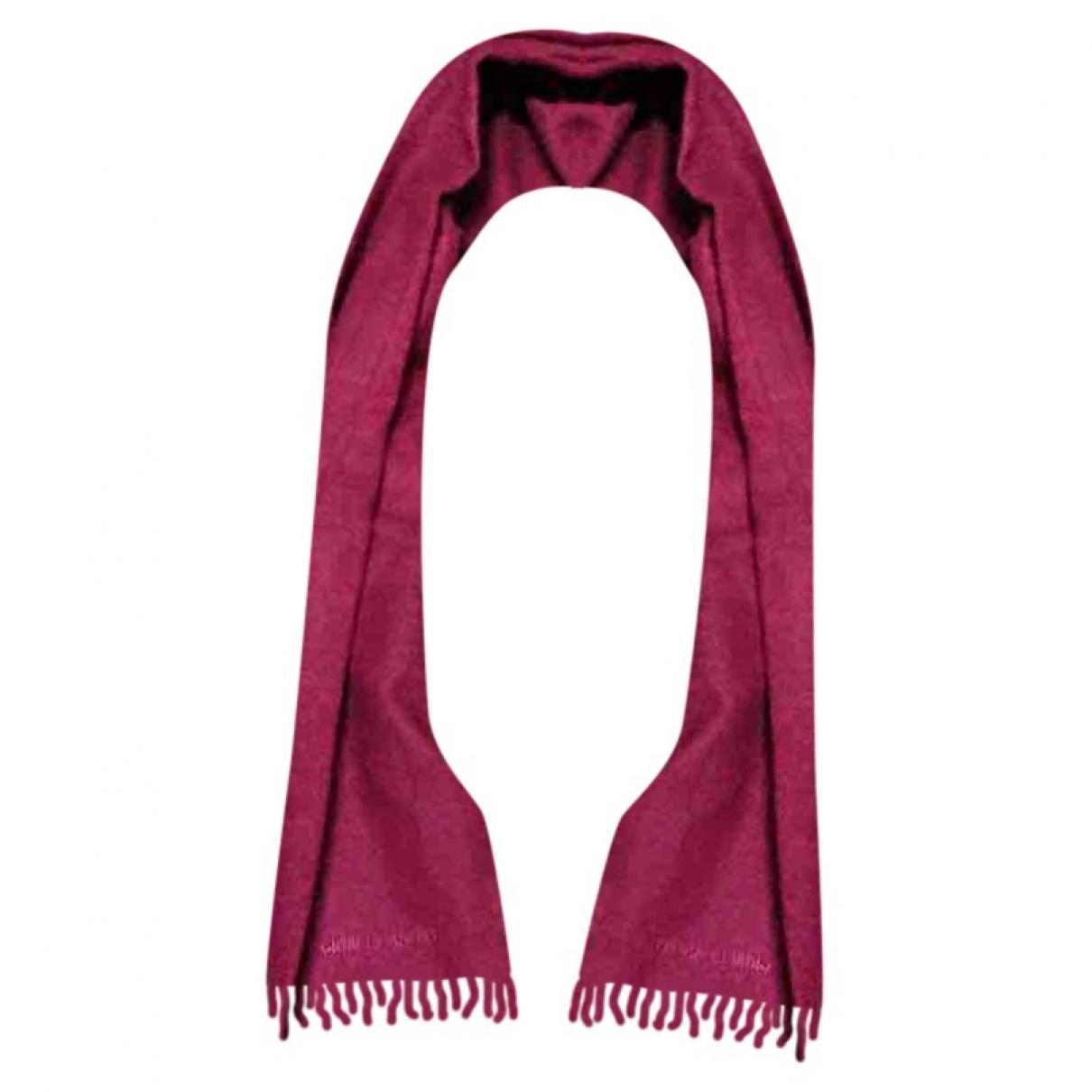 Giorgio Armani - Cheches.Echarpes   pour homme en laine - bordeaux