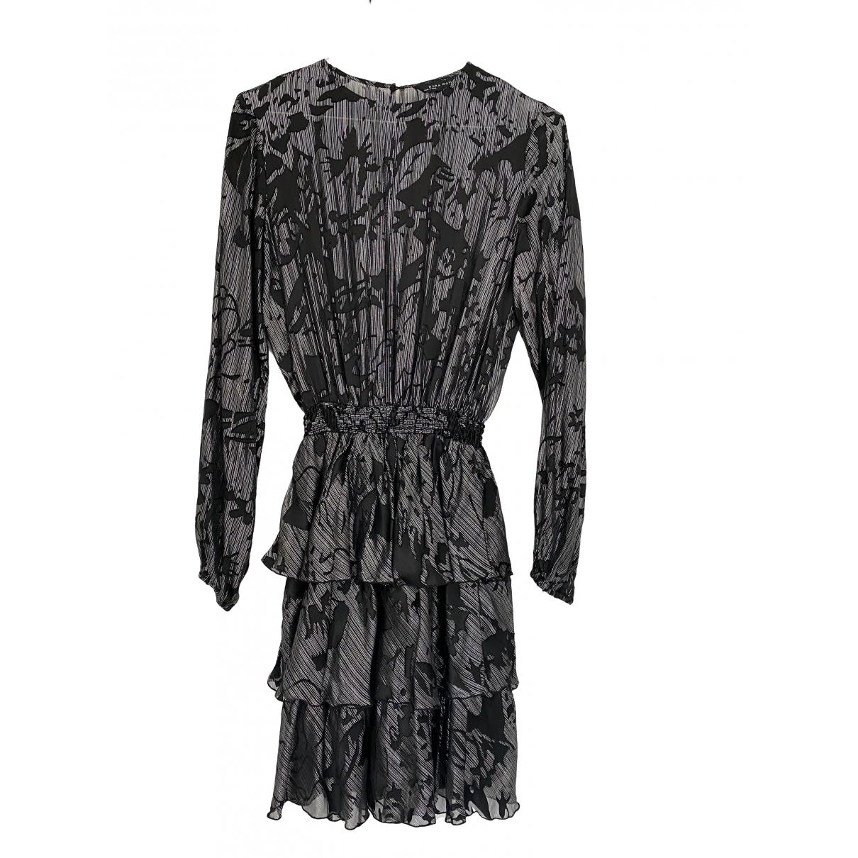 Zara - Robe   pour femme - argente