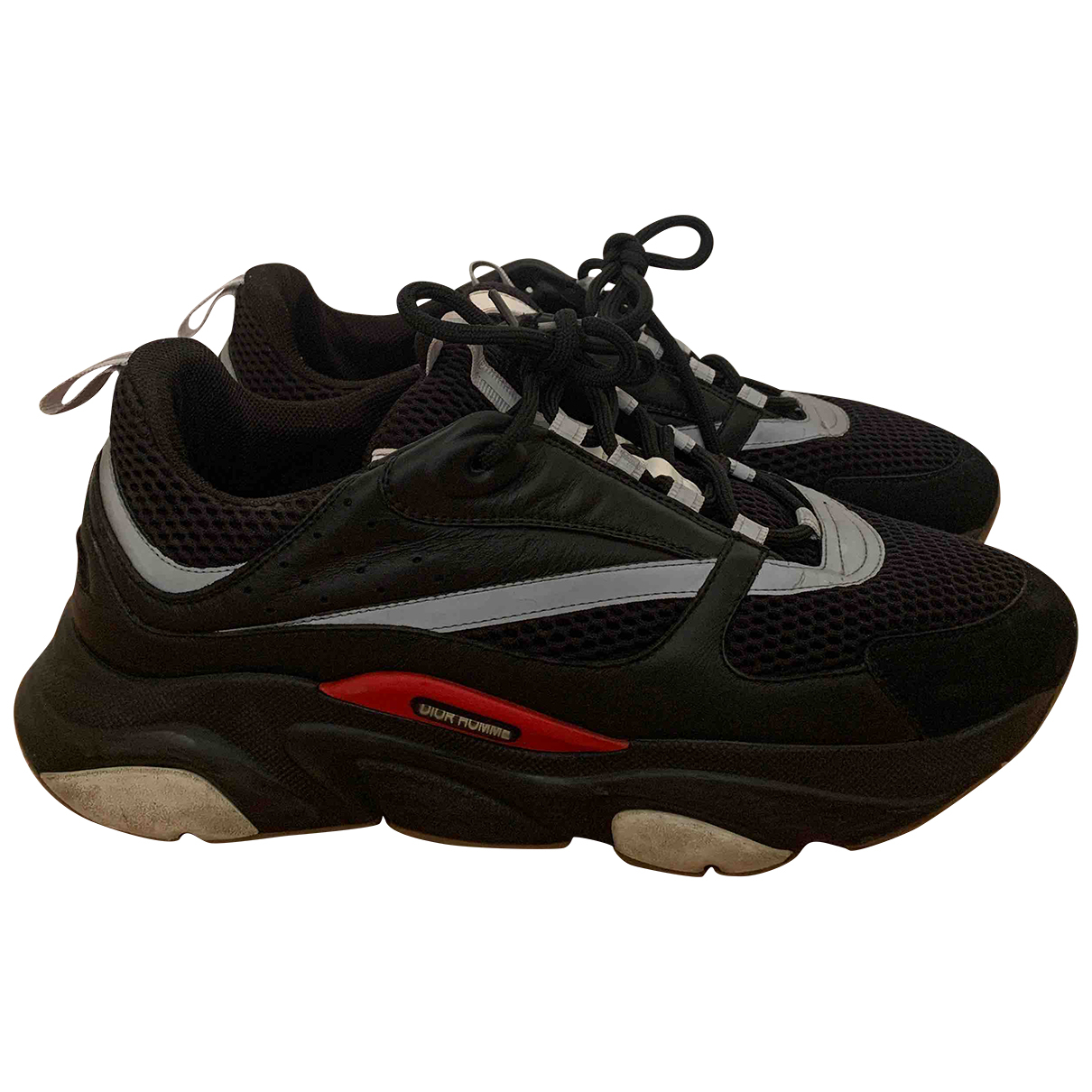 Dior Homme B22 Sneakers in  Schwarz Leinen