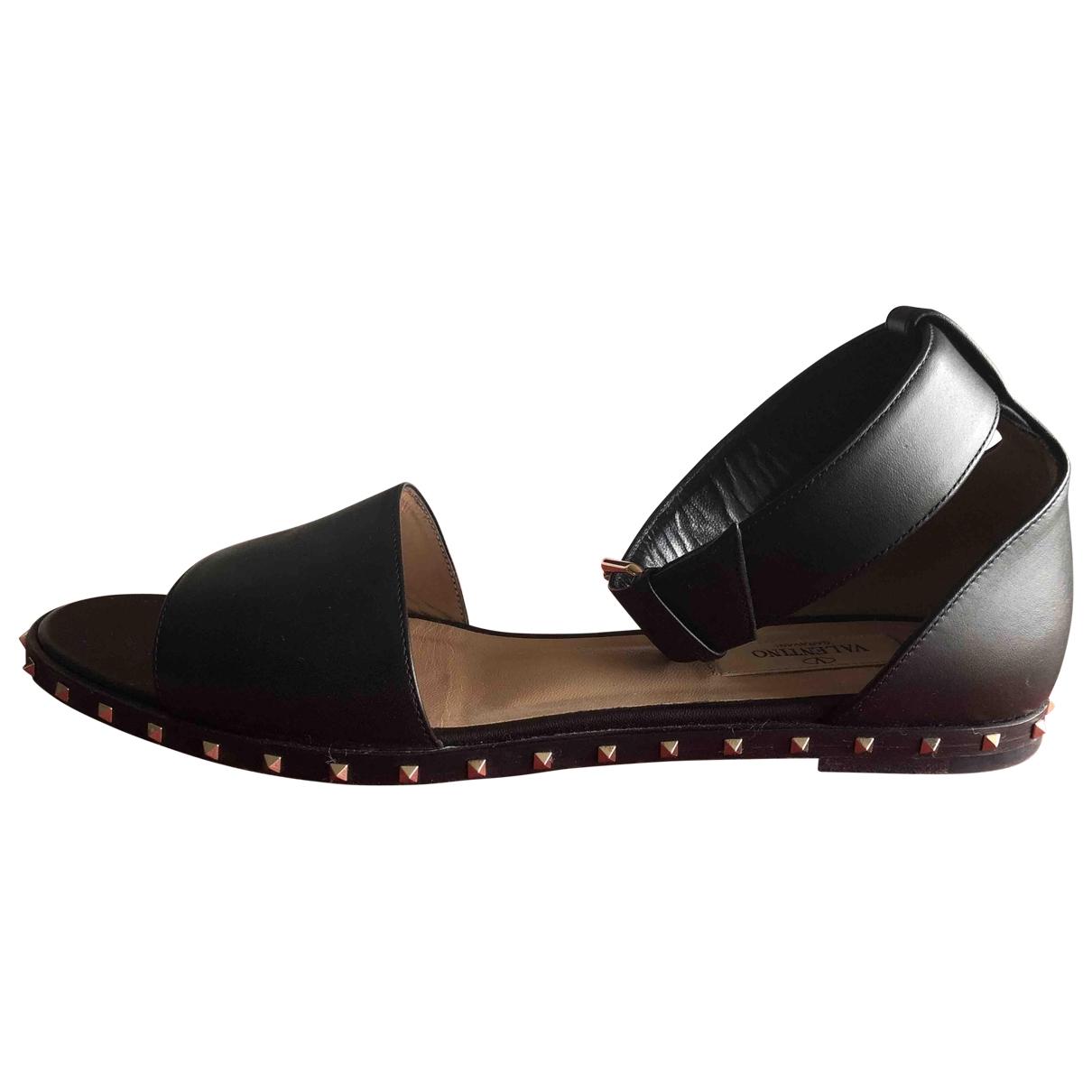 Jimmy Choo - Sandales   pour femme en cuir verni - noir