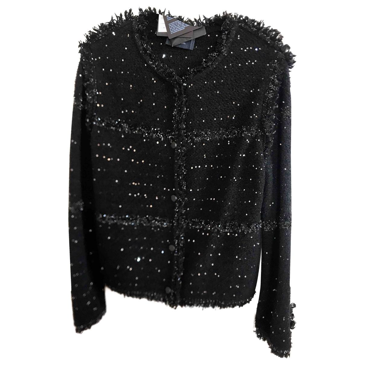 Lanvin \N Black Wool jacket for Women 38 FR