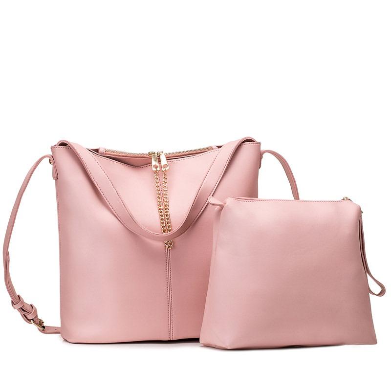 Ericdress PU Magnetic Snap Chain Handbag