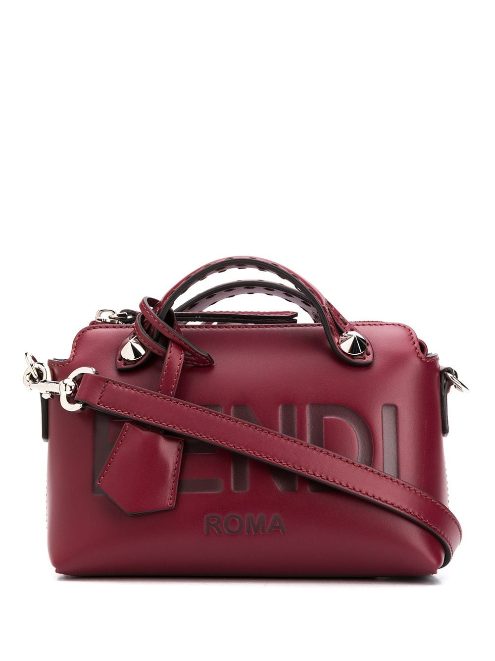 By The Way Leather Mini Boston Bag
