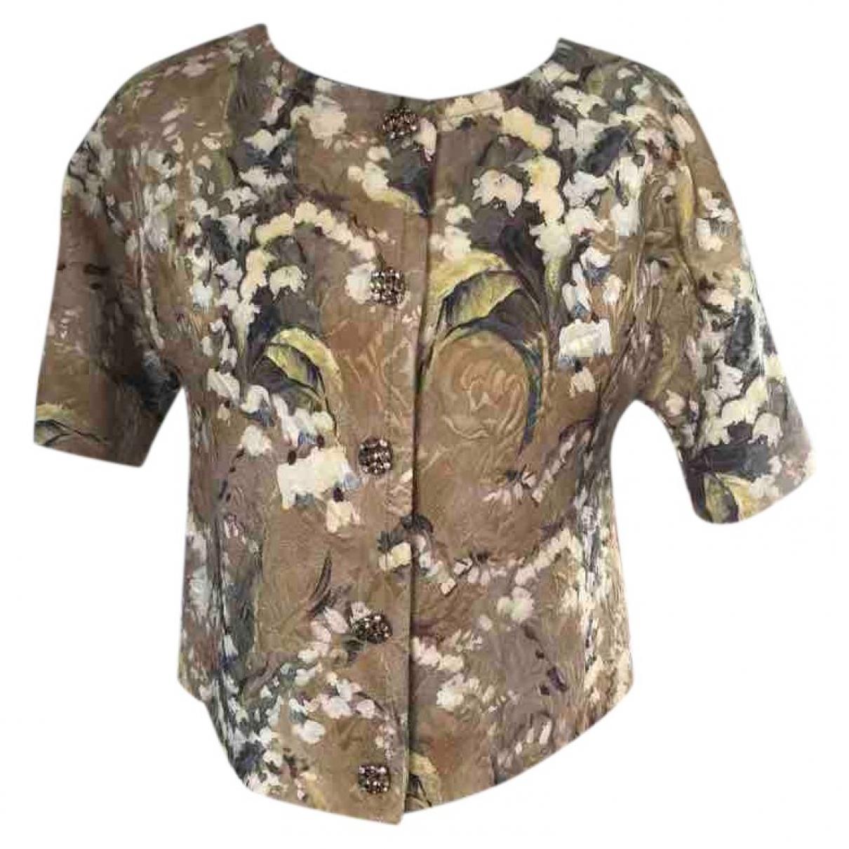 Dolce & Gabbana - Veste   pour femme en laine - vert