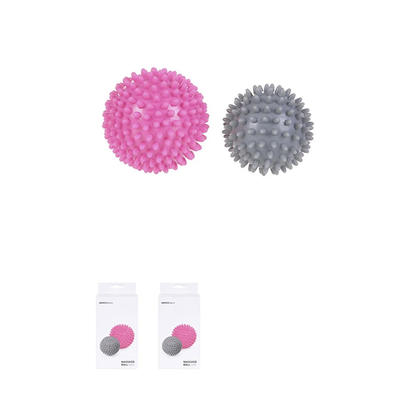 MINISO Sports - Massage Ball, 2-Pack - Rose