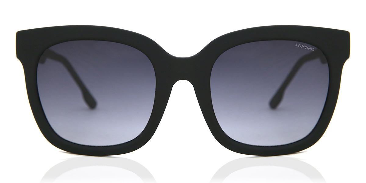 Komono Harley S5453 Women's Sunglasses Black Size 60