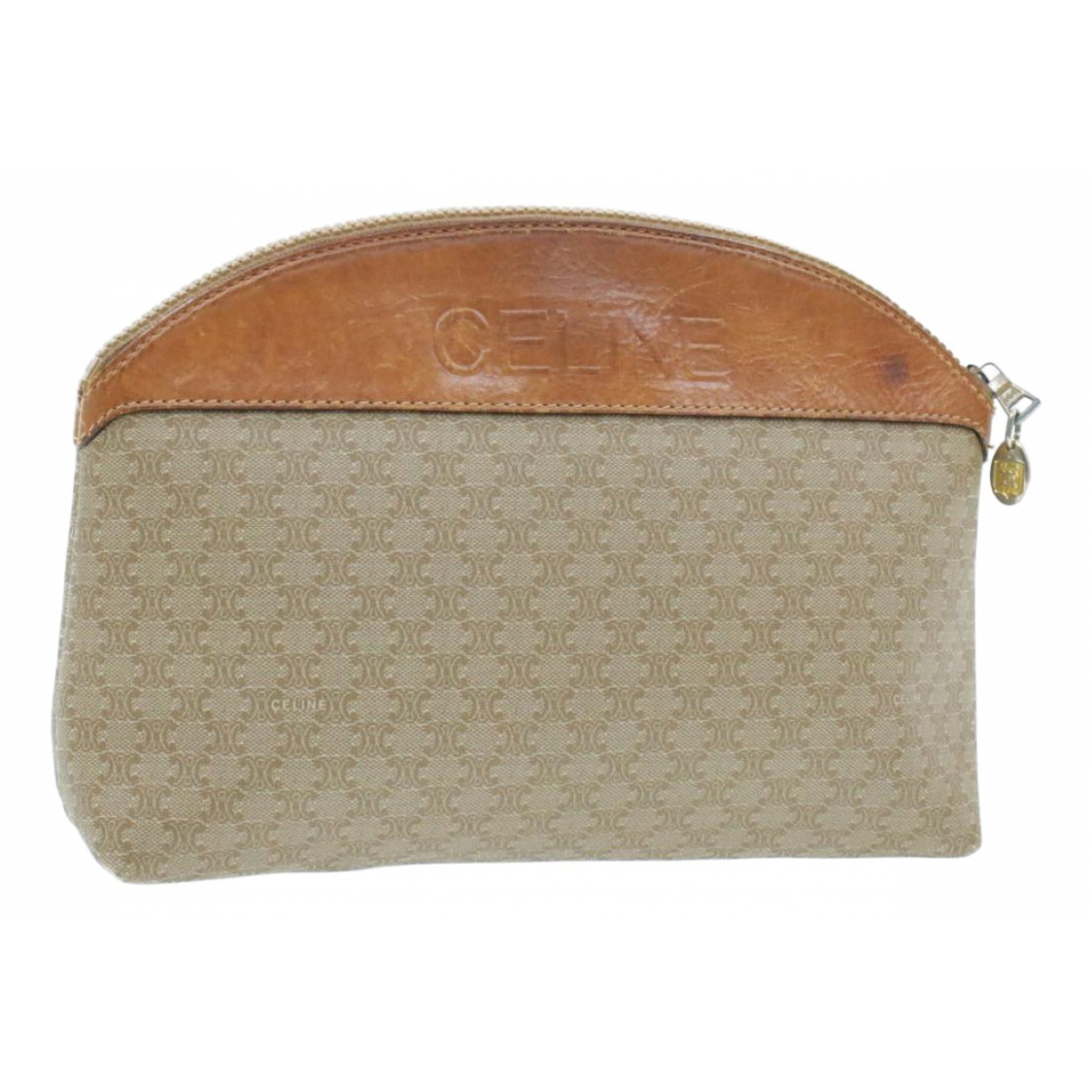 Celine \N Brown Cloth Clutch bag for Women \N