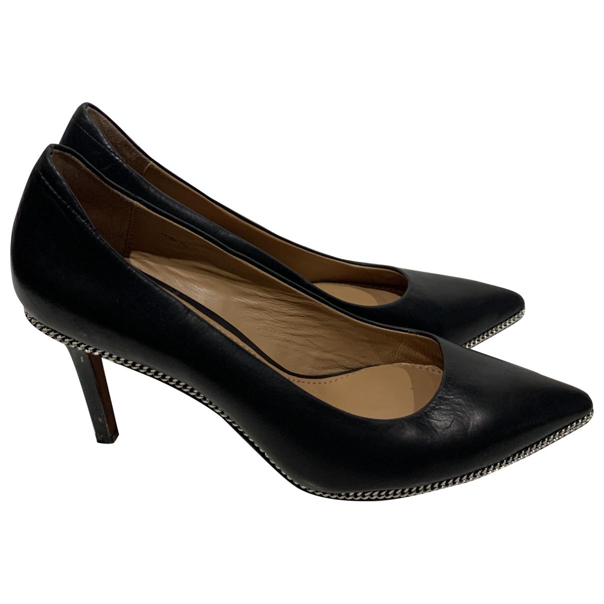 Rachel Zoe - Escarpins   pour femme en cuir - noir
