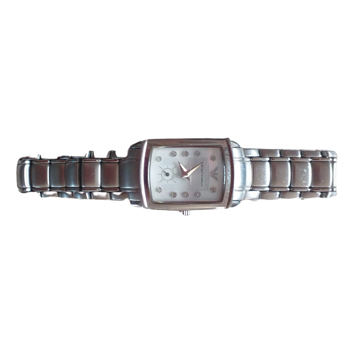 Emporio Armani \N Steel watch for Women \N
