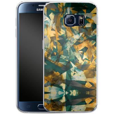Samsung Galaxy S6 Silikon Handyhuelle - Raw Texture von Danny Ivan