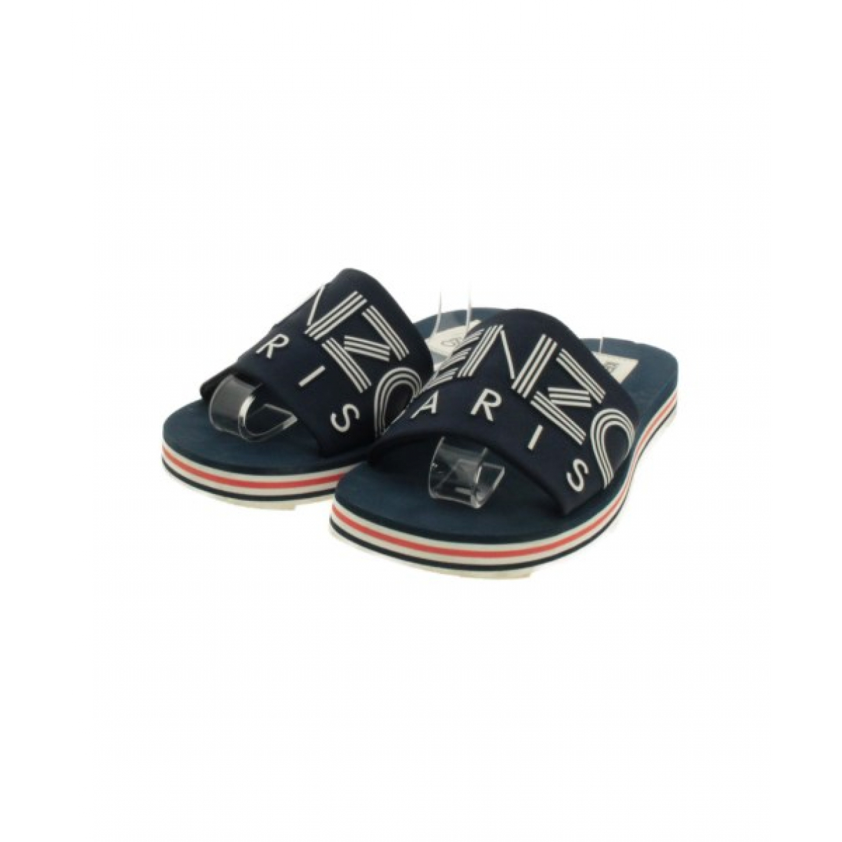 Kenzo N Blue Cloth Sandals for Men 43 EU