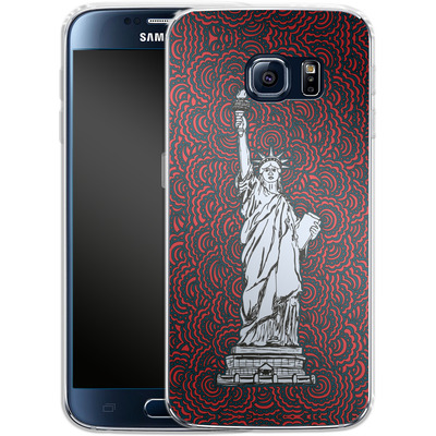 Samsung Galaxy S6 Silikon Handyhuelle - Liberty von Kaitlyn Parker