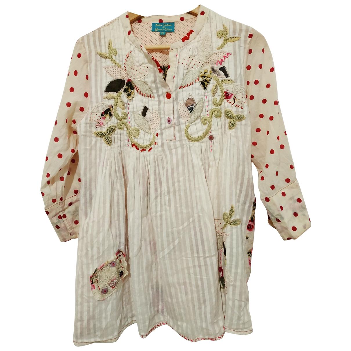 - Top   pour femme en coton - multicolore