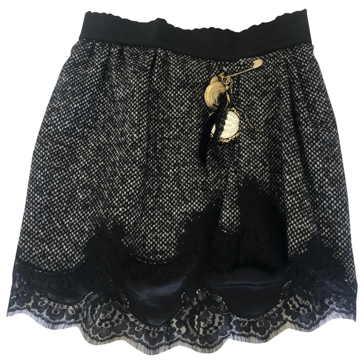 Mini falda de Lana Dolce & Gabbana