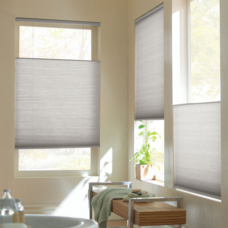 Home Expressions Top-Down/Bottom-Up Cordless Cellular Shade - FREE SWATCH, One Size , Gray