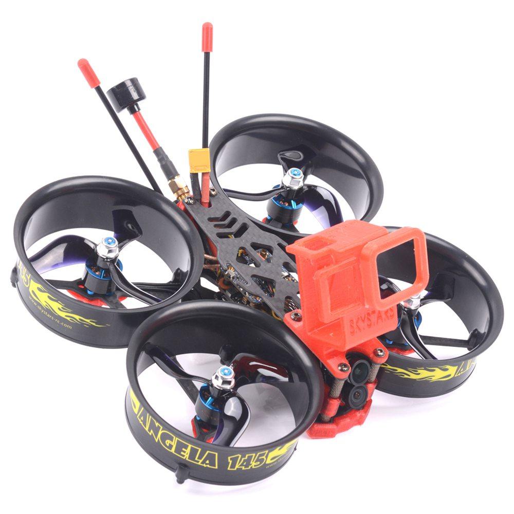 Skystars Angela 145 Whoop FPV Racing Drone BNF Frsky R-XSR Receiver