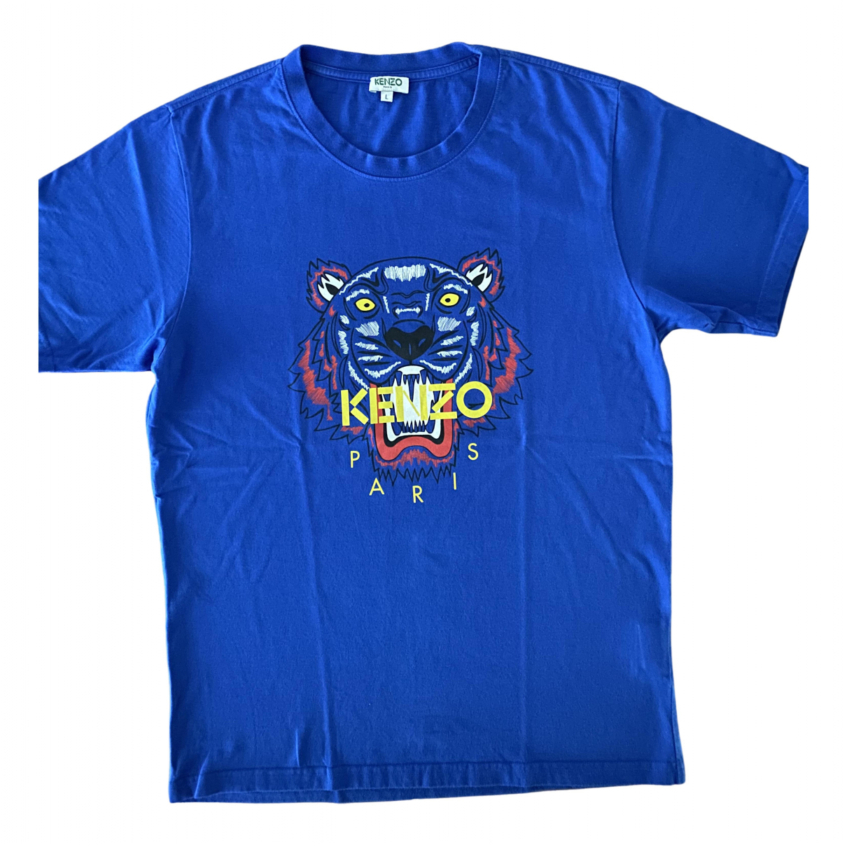 Kenzo N Blue Cotton T-shirts for Men L International