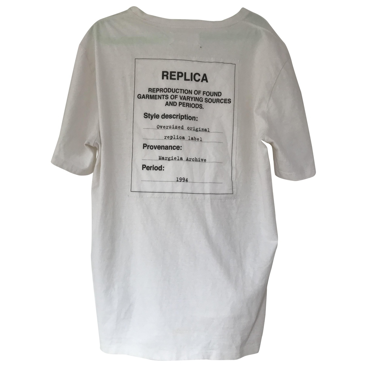 Maison Martin Margiela \N White Cotton T-shirts for Men L International