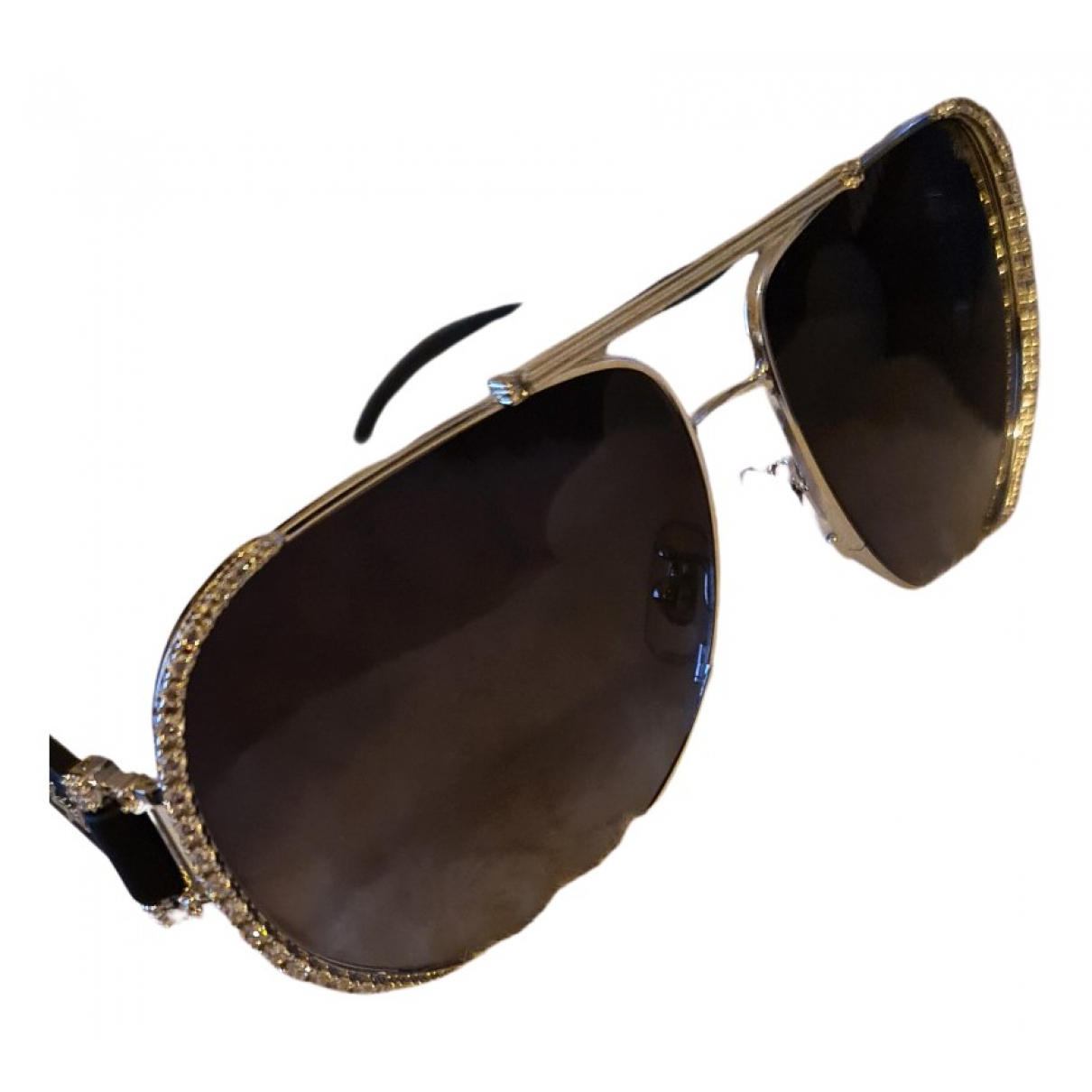 Chopard N Silver Metal Sunglasses for Women N