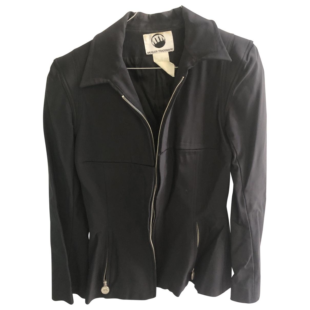 Mugler \N Black jacket for Women 38 FR