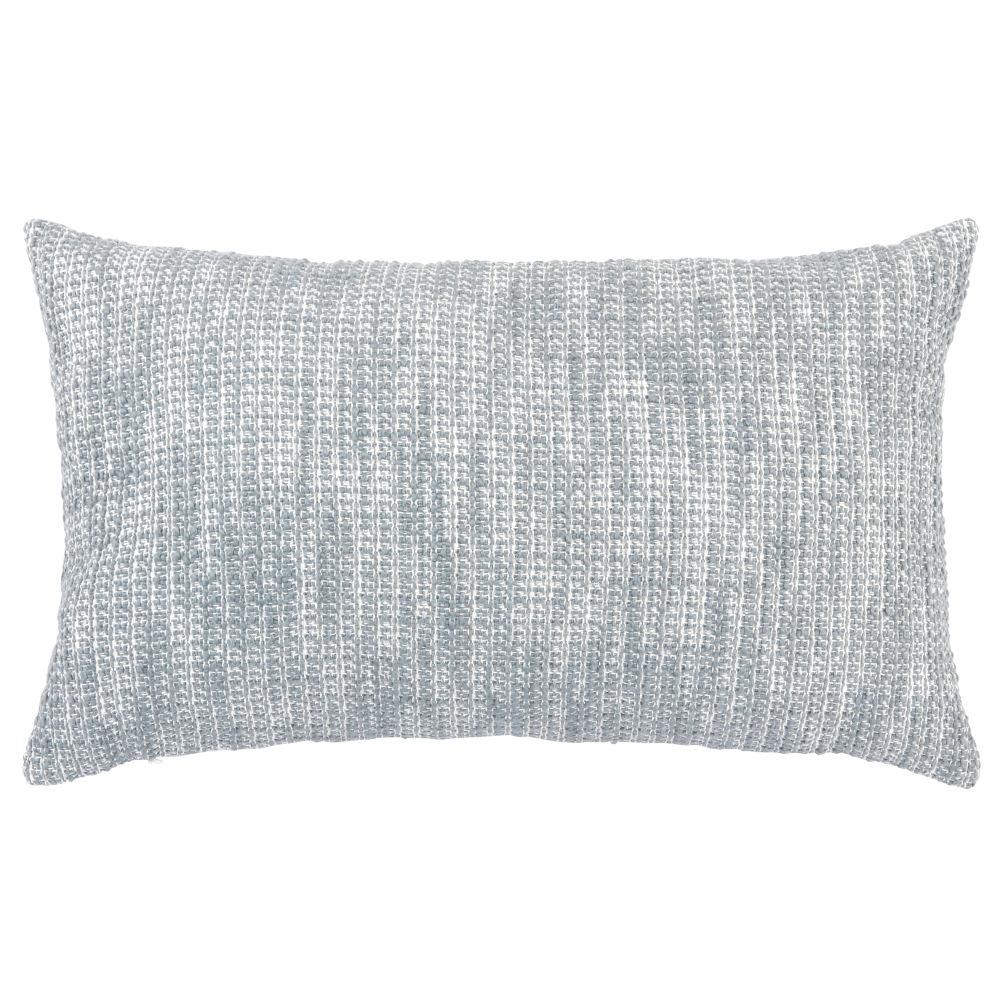 Kissenbezug aus Baumwolle, grau meliert 30x50