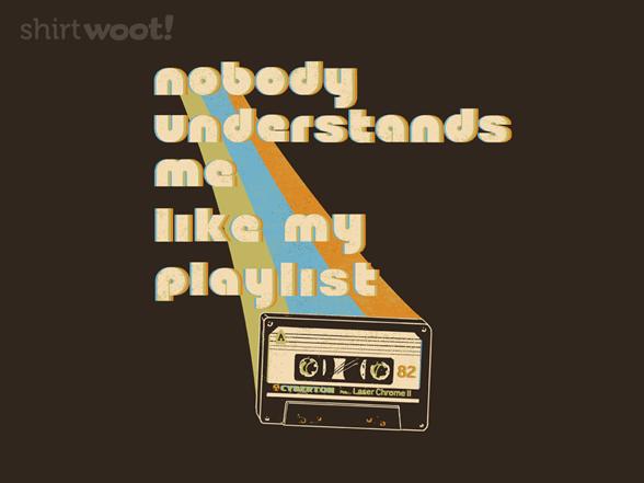My Playlist T Shirt