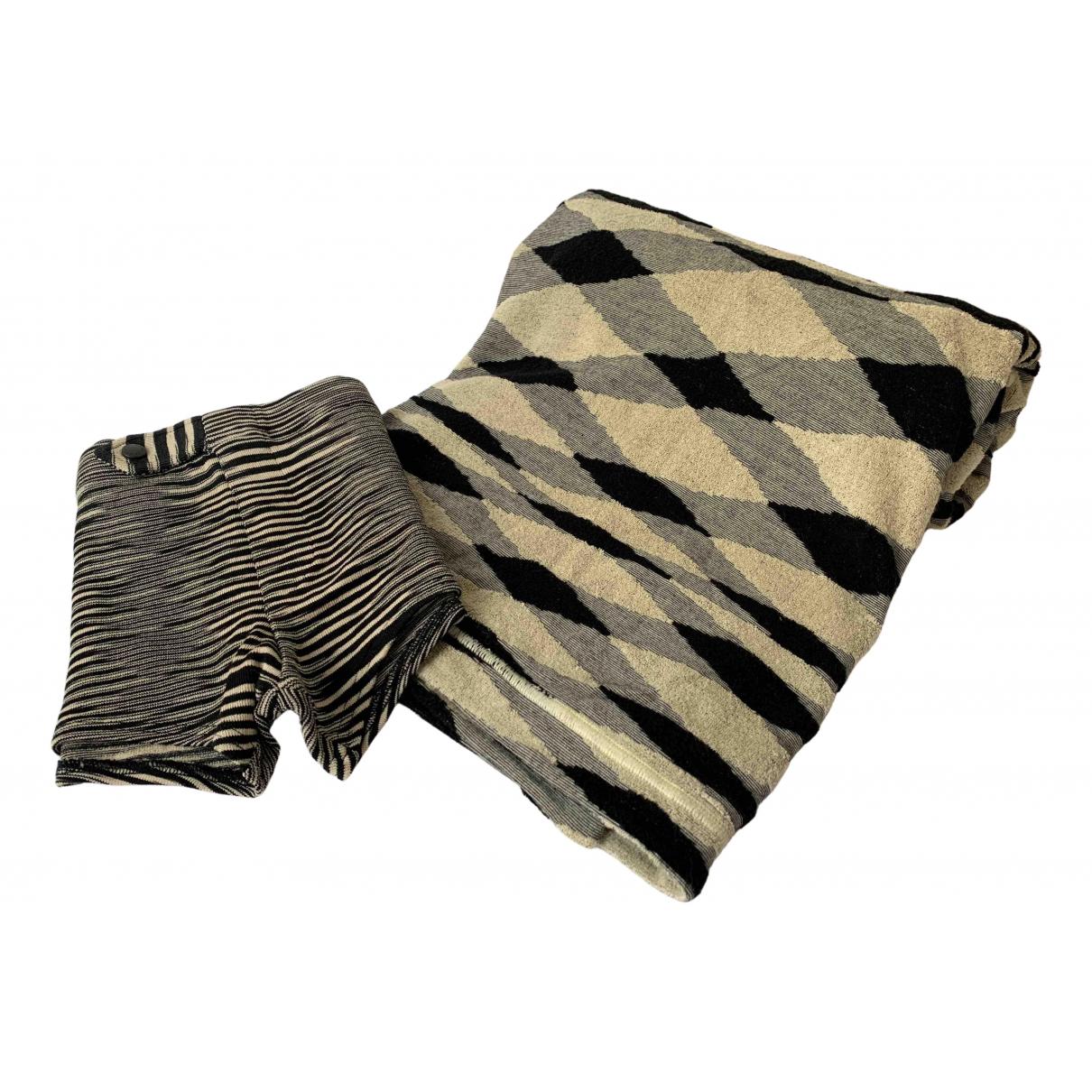 Missoni - Bain   pour homme en coton - elasthane - noir