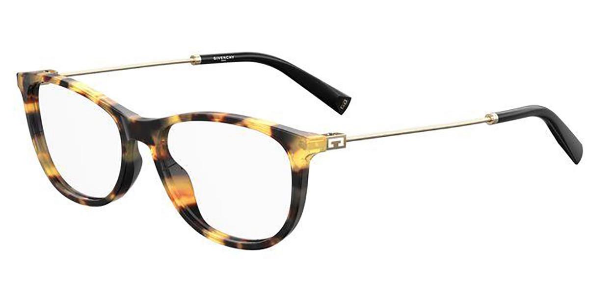 Givenchy GV 0129 SX7 Women's Glasses Tortoise Size 52 - Free Lenses - HSA/FSA Insurance - Blue Light Block Available