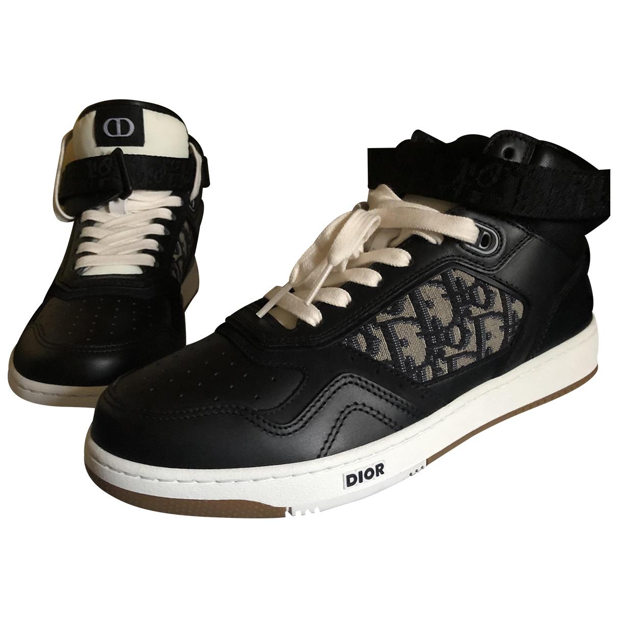 Dior \N Sneakers Schwarz