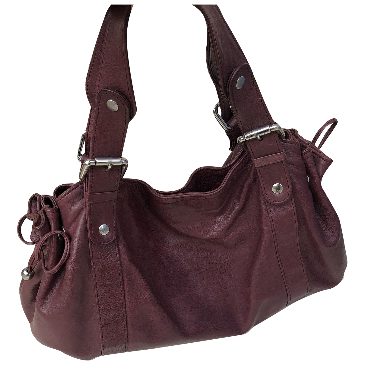 Gerard Darel 24h Purple Leather handbag for Women \N
