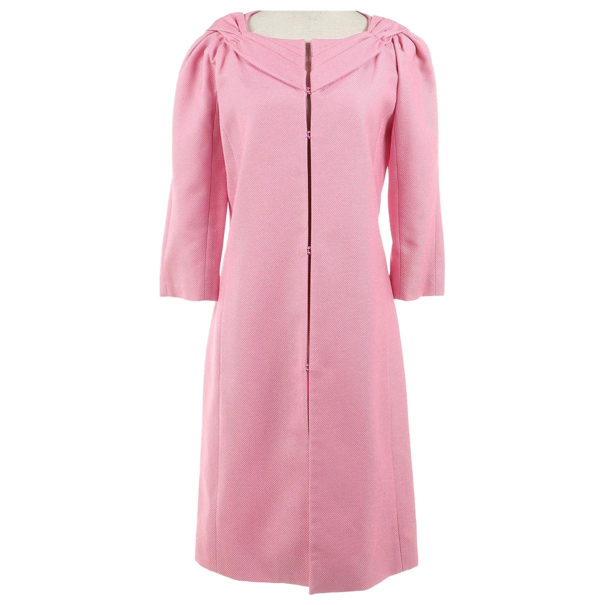 Valentino Garavani N Pink Cotton jacket for Women 40 IT