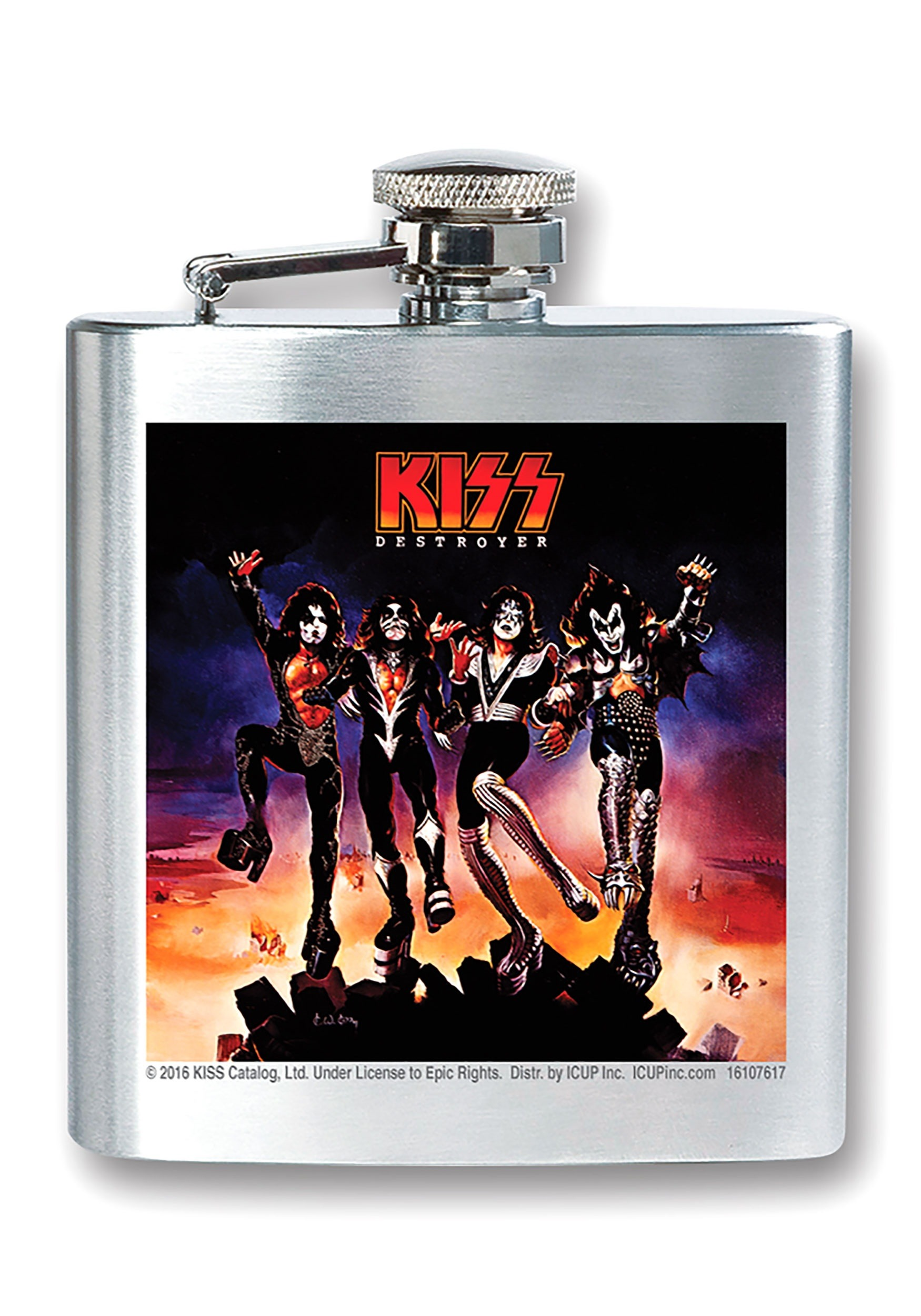 Kiss 8 oz Destroyer Flask