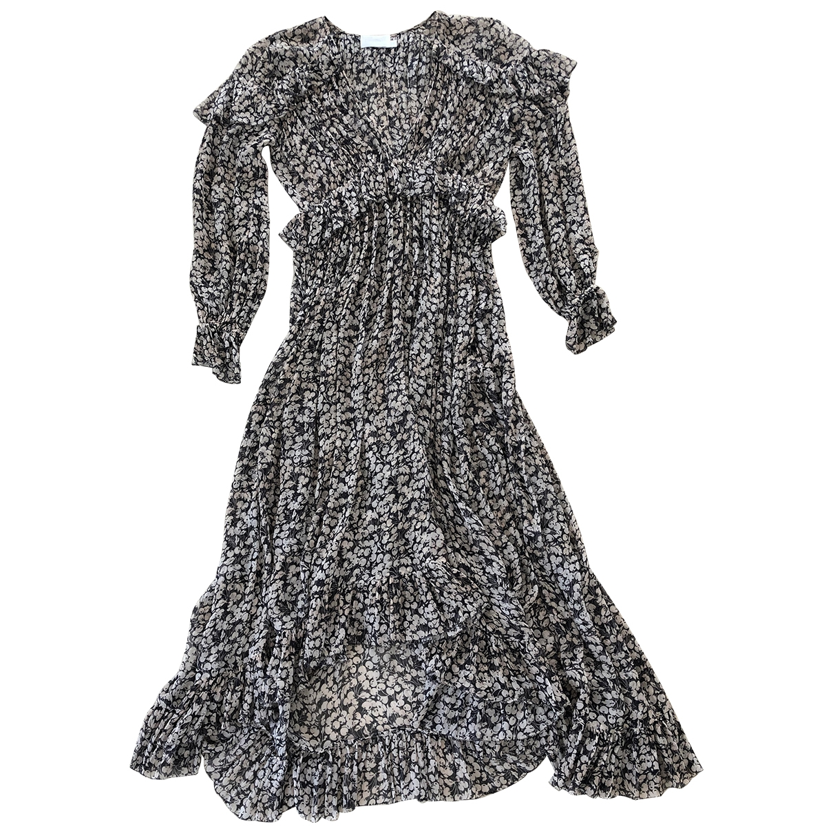 Zimmermann - Robe   pour femme en soie - noir