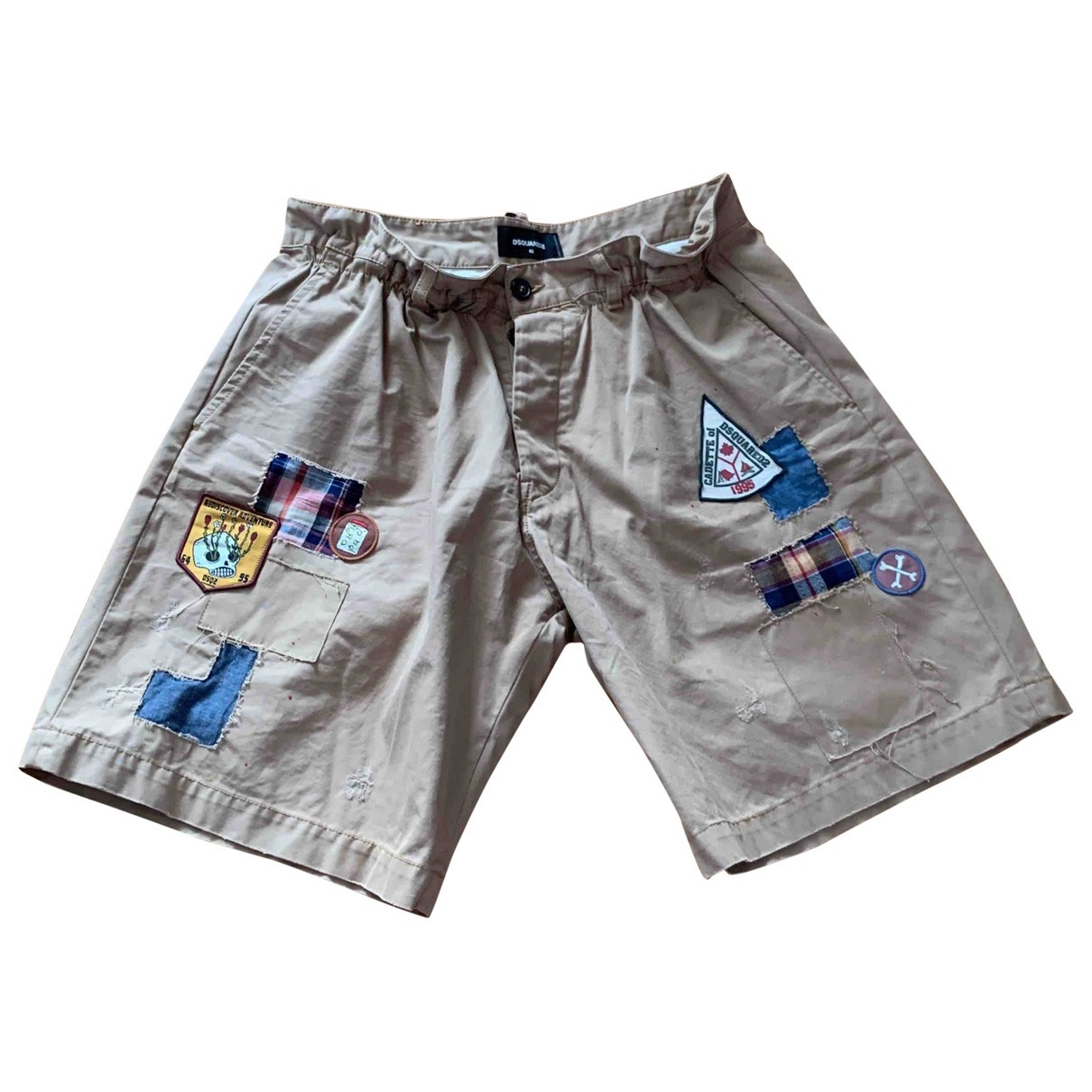 Dsquared2 \N Shorts in  Khaki Baumwolle