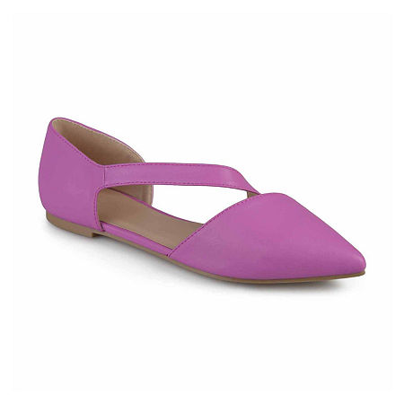 Journee Collection Womens Landry Ballet Flats, 7 Medium, Purple