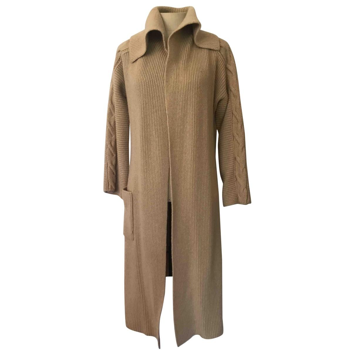 Marella - Manteau   pour femme en laine - camel