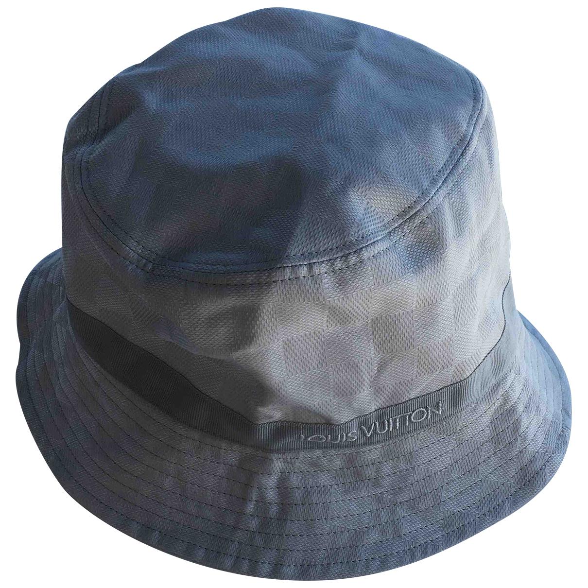 Louis Vuitton - Chapeau & Bonnets   pour homme en coton - gris