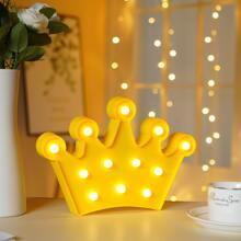 1 pieza luz nocturna en forma de corona