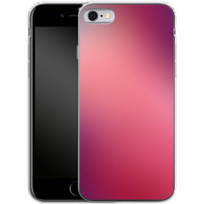 Apple iPhone 6 Silikon Handyhuelle - Coral Swirl von #basic