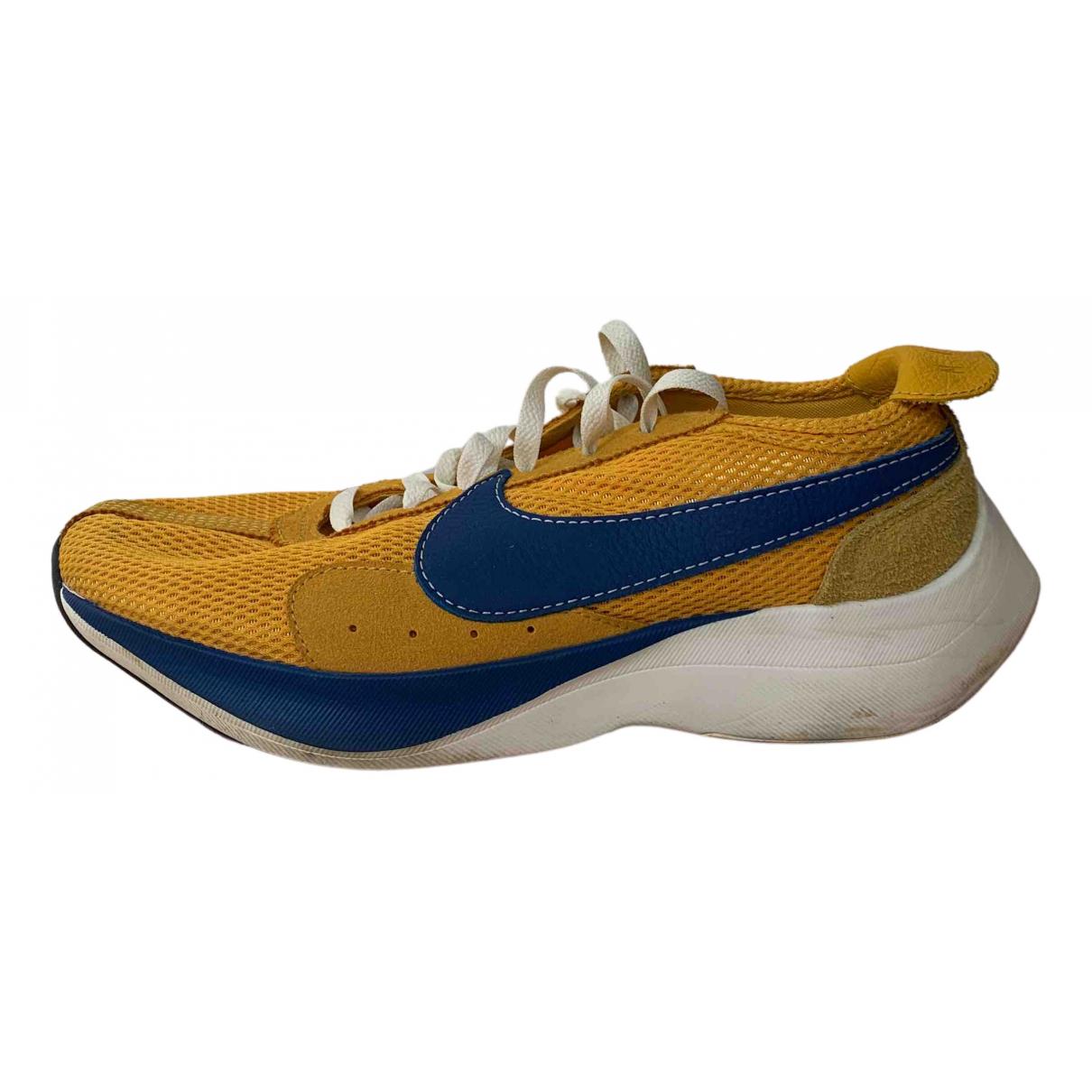Nike - Baskets Zoom Fly  pour homme en caoutchouc - jaune