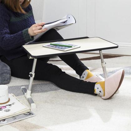 Adjustable Portable Standing Desk Laptop Bed Table for 17