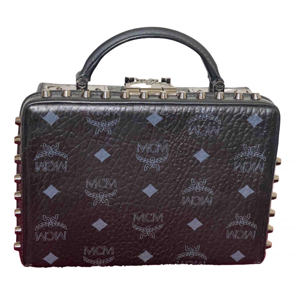 Mcm Berlin Black Leather handbag for Women \N